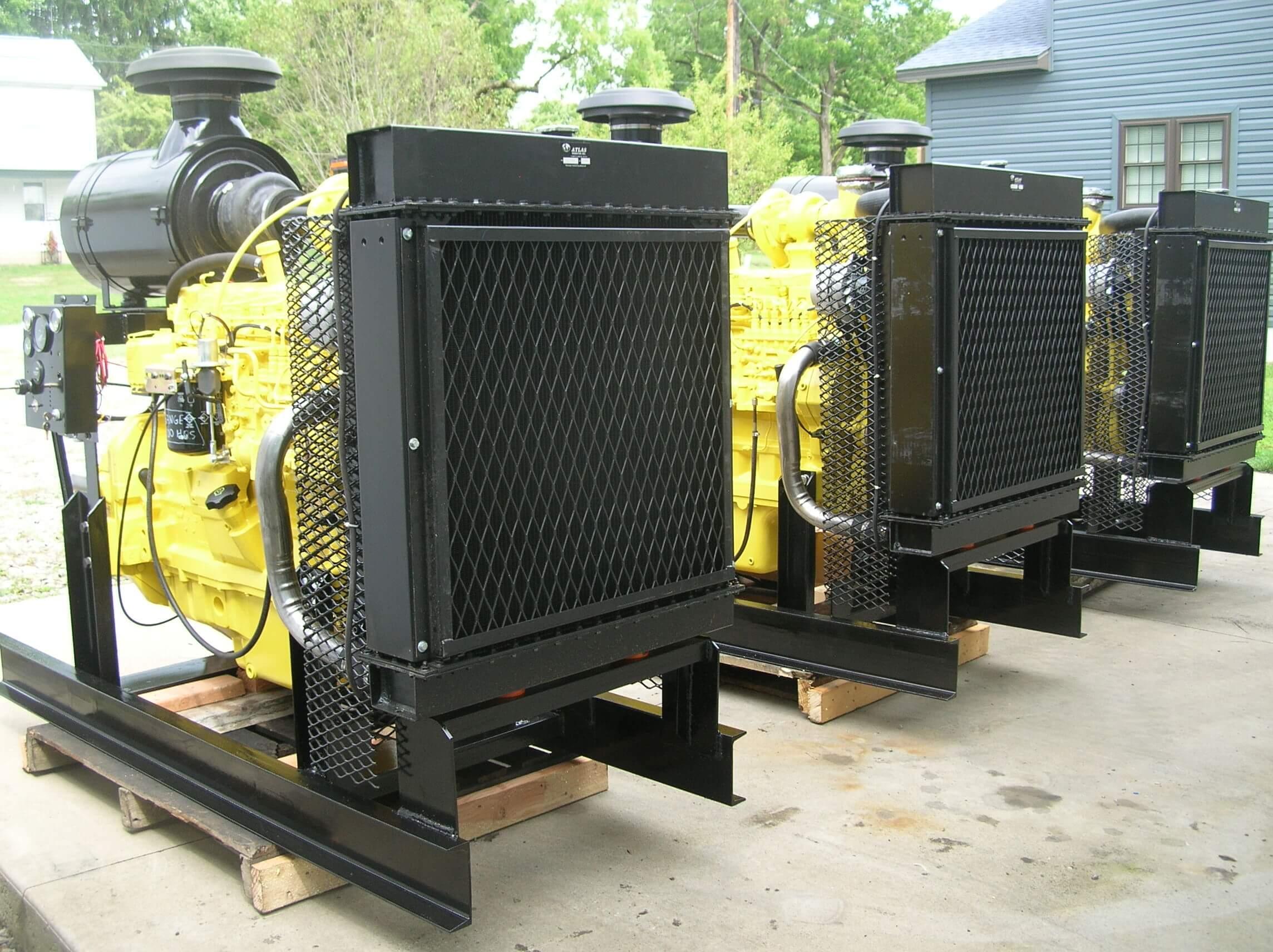 John Deere 6081 Power Unit